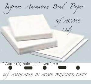 "16f Ingram Bond 22 lb. 12"" x 17"" Acme"