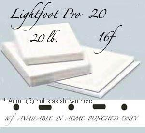 "16f Lightfoot Pro 20 lb. 12""X17"" Acme"