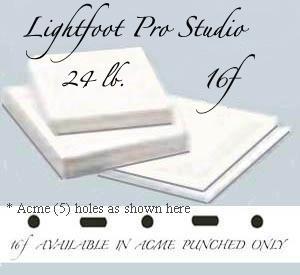 "16f Lightfoot Pro Studio 24 lb. 13.5""X17"" Acme"
