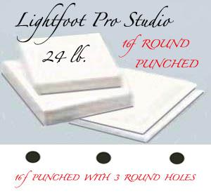 "16f Lightfoot Pro Studio 24 lb. 13.5""X17"" Round"