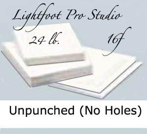 "16f Lightfoot Pro Studio 24 lb.13.5""X17"" Unpunched"