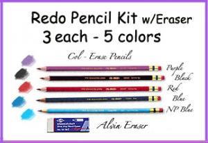 *Redo Pencil Kit w/Eraser