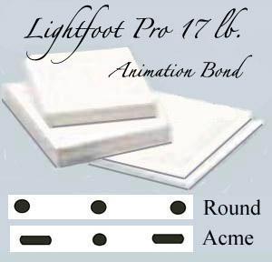 *12f Lightfoot Pro 17 lb. animation Bond 500 shts
