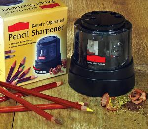 Round PENCIL SHARPENER Battery Operated