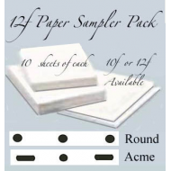**12f Sampler Pack SML 40 sheets