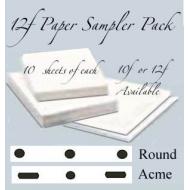 **12f Sampler Pack SML 40 sheets