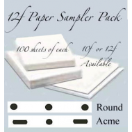 *12f  Sampler Pack LGE 400 sheets
