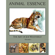 ANIMAL ESSENCE  Art of Joe Weatherly (Only 6 Left)