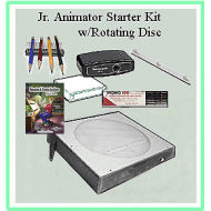 10f Jr. Animator Starter Kit w/DVD (ONLY 4 LEFT)