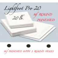 "16f Lightfoot Pro 20 lb. 12""X17"" Round"