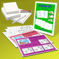Lemay Learning Kits W/ DRAWING COURCE ON CD
