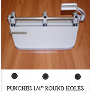 Round 3-HOLE PUNCH FOR OUR ROUND PEGBARS (6 Left)
