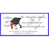 Graduation Gift Certificates