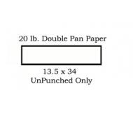 Double Pan Paper 20 lb. 13.5 x 34