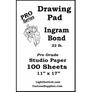 Ingram Bond  22 lb. Pro Grade  Drawing  Pad ....  11 X 17
