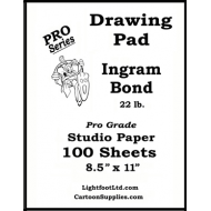 Ingram Bond 22 lb. Pro Grade Drawing Pad..... 8.5 x 11
