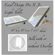 *10f Easel Design Pro X Jr. Lightbox Convertible (ONLY 1 LEFT)