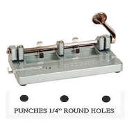 ROUND PUNCH 1/4 INCH HOLE (Only 3 Left)