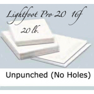 "16f Lightfoot Pro 20 lb. 13.5""X17"" Unpunched"
