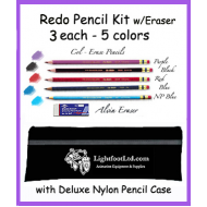 Redo Pencil Kit w/Deluxe Nylon Case