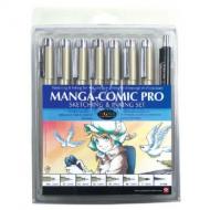 Sakura® Manga-Comic Pro Sketching and Inking 8-Piece Set