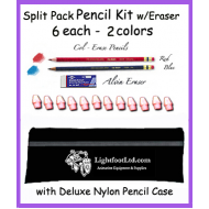 Split Pack Pencil Kit w/Deluxe Nylon Case
