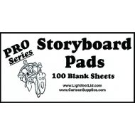 "Pro Series StoryBoard Pads 100 Blanks 4.5""x 8.5"""