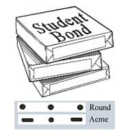 10f Student Bond  100 shts