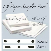 "*10f  Sampler Pack LGE (8 1/2""x11"" Paper) 300 sheets"