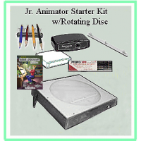 Jr. Animator Starter Kit w/DVD