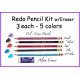*Redo Pencil Kit w/Eraser