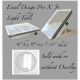 *Easel Design Pro X Jr. Lightbox (Convertible)