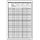 Animation Supplies-100 Blank X-Sheets 24fps/ Exposure Sheet